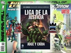 LIGA DE LA JUSTICIA - AUGE Y CAÍDA [COMIC AREQUIPA LATORRE CORP.]