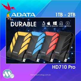 Disco Duro Externo Adata 1tb y 2tb Usb 2.0-3.2 Hd710 Pro