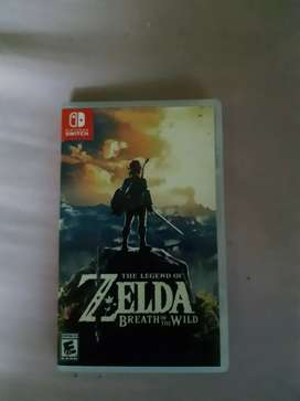 Vendo Zelda Breath of the wild para nintendo Switch