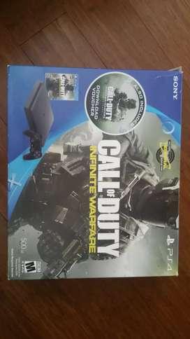 Se vende ps4 slim con 10 juegos