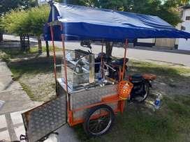 triciclo con moto fr 80 cc