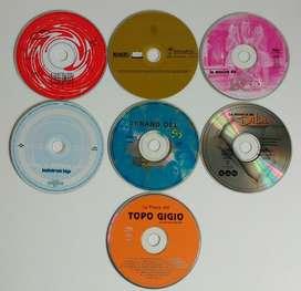 Cds 7 originales musica infantil Erreway Dibu Mambru Topo Gigio Cdjess