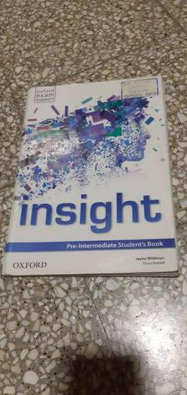 Libro de ingles Insight pre-intermediate