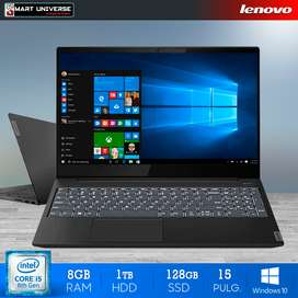 Laptop Lenovo S340 I5 8gb Ram 1TB 128gb Ssd Win10 15.6 Pul
