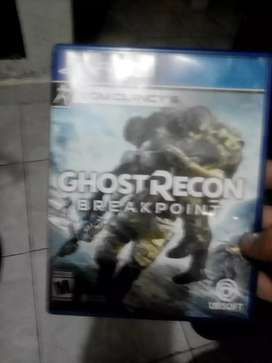 CD ghost recon breakpoint ps4