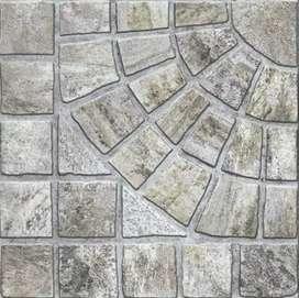 Cerámico 43 x 43 de primera calidad cañuelas antideslizante