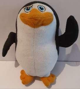 Muñeco Infantil Peluche Pinguino Skipper Madagascar McDonalds ASP