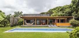 Construcción casa de Campo tipo Revista con Piscina  y Jacuzzi Incluído