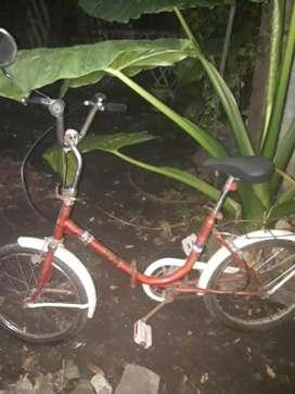 Bicicleta Plegable Rodado 20 Original