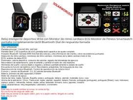Reloj inteligente smartwatch W34 serie 4