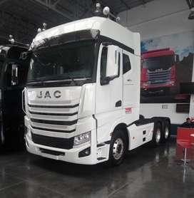 TRACTO  JAC cabina con litera EURO 3 - 48 TON
