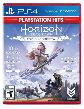 Juego Horizon Zero Down para PS4 Nuevo