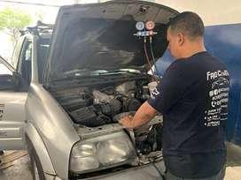 GAS REFRIGERANTE $28  Y TODO EN REFRIGERACIÓN AUTOMOTRIZ FRIO CENTER