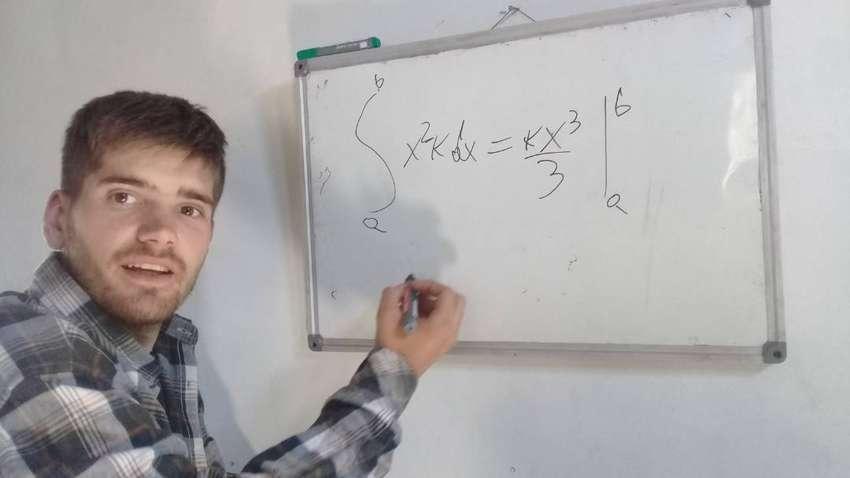Clases particulares en linea  de matemática y física  nivel secundario y primario. 0