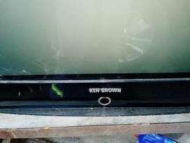 Televisor Ken Brown para respuestos