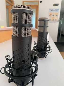 Micrófonos RODE Procaster (Por favor leer la descripcion antes de preguntar)
