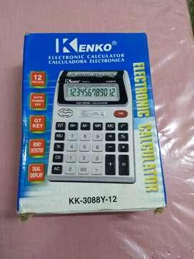 Calculadora KENKO Big Display Doble
