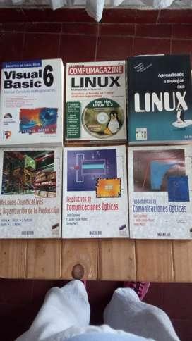 Libros de varios temas usados