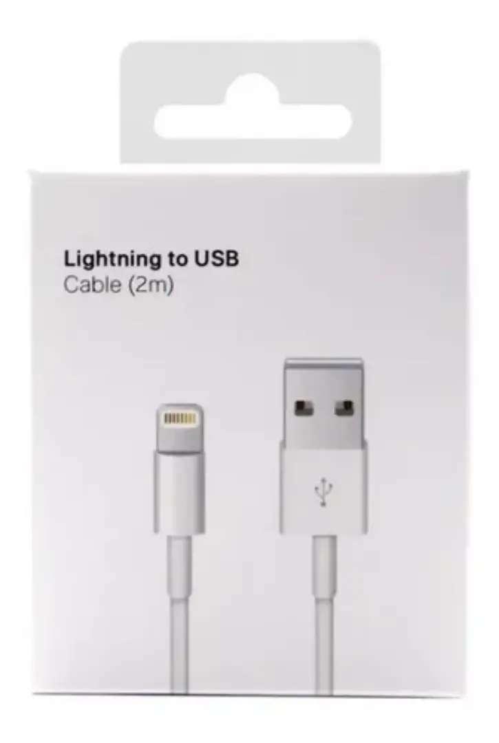 Cable iPhone Lightning Original 2 Metros 5 6 7 8 X 0