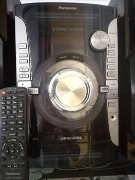 Equipo sonido panasonic mp3  AKX-74 super woofer