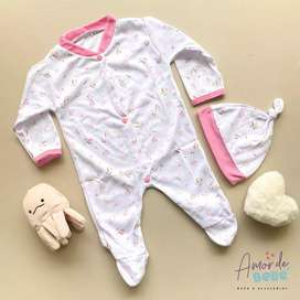 Pijama más gorro bebé