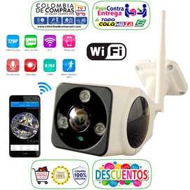 Cámara Seguridad 360º Ip Wifi Full Hd Visión Nocturna, Nuevos, Originales, Garantizados...
