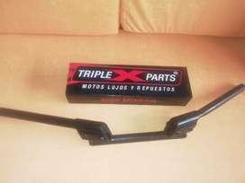 Espejos de segunda tipo pulsa 200ns y cabrilla 3 partes para moto
