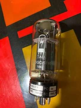 Cambio y Pareo de Válvulas de potencia 6L6 de amplificadores de guitarra