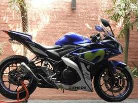 Yamaha R3 GP edición limitada