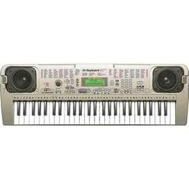 Organeta Mq807 Teclado Juguete Piano 54 Teclas Pantalla Lcd