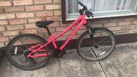 Bicicleta Specialized aro 24, Hotrock. (VENDIDA)