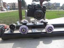 Slider Electrónico video , Dolly Rail