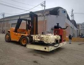Montacarga CAT de 10 toneladas