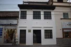 Edificio de arriendo en el centro de Ibarra