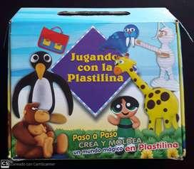 ENCICLOPEDIA PLASTILINA, PASO A PASO PARA CREAR FIGURAS