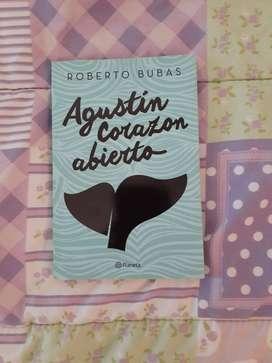 Libro Agustín corazón abierto por Roberto Bubas