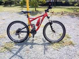 Bicicleta Schwinn Doble Suspension