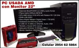 Pc Amd 4gb 1tb