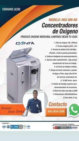 SE VENDE CONCENTRADOR DE OXIGENO 10L