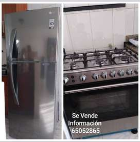Se vende Estufa y Nevera 14ft