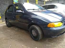 Lindo Fiat Palio modelo 1997 papeles al dia