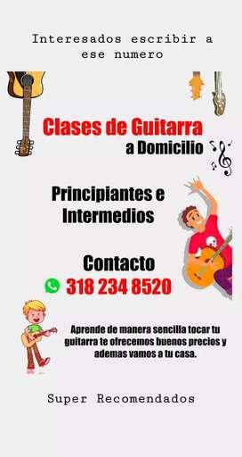 Clases Particulares de Guitarra Acustica