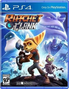 Ratchet & Clank juego físico ps4 sellado