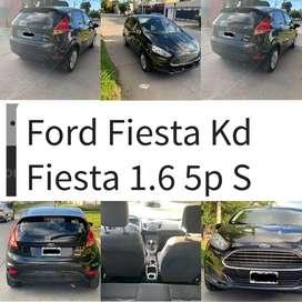 Ford Fiesta Kinetic 1.6 S 2014 5 puertas Excelente estado; única dueña, 69.000 kilómetros.