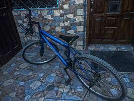 bicicleta montañer