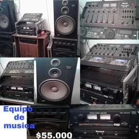 Equipo de sonido completo