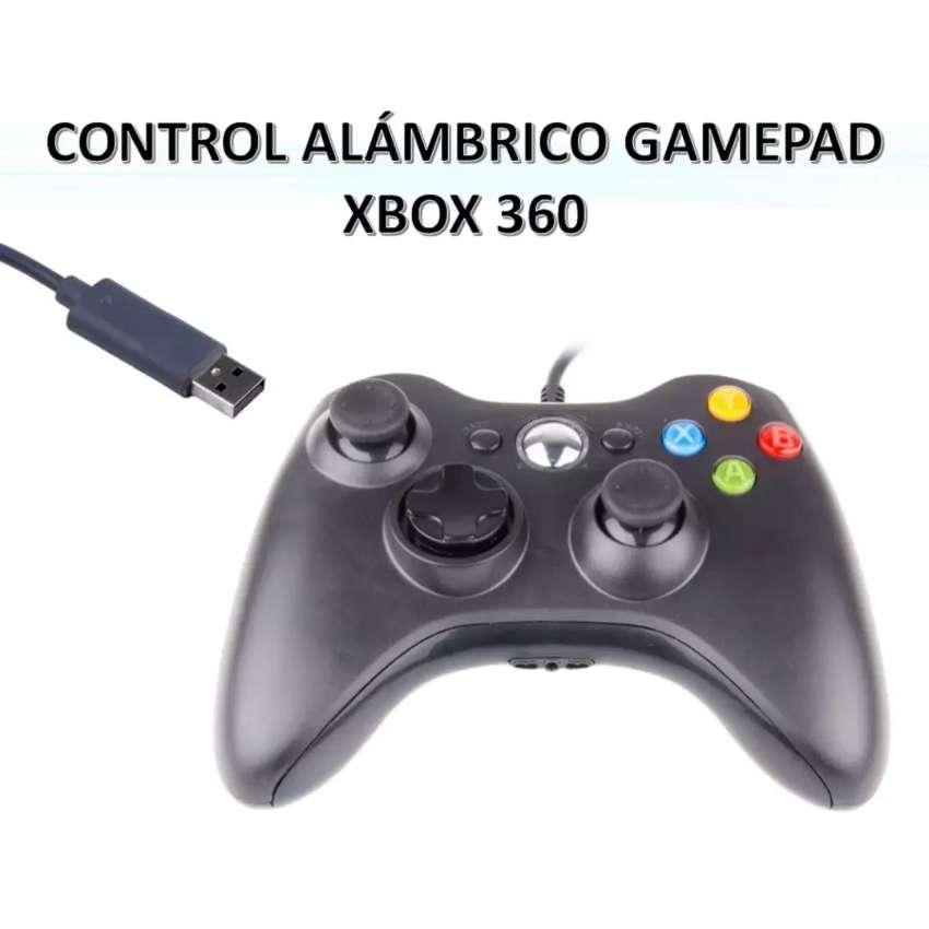 Auténtico Control Para Xbox 360 Y Pc Alambrico 0