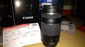 Objetivo Canon 75-300 Automático Nuevo en caja.