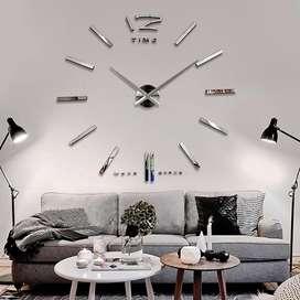 Reloj Pared Metalico Decorativo Moderno Diseño