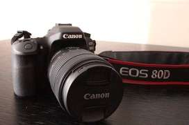 Cámara Canon Eos 80d (cuerpo)